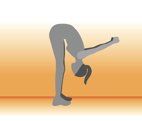 tipover tuck hamstring stretch Stretch the Spine (and increase your height)