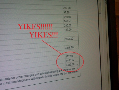 Hopital Estimated Bill