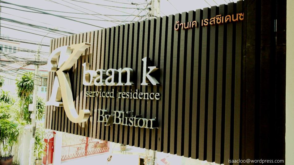 Baan K Residence by Bliston Bangkok review
