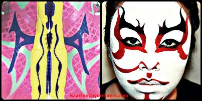 Kabuki Mask (Mask Pic credit to Pic2fly