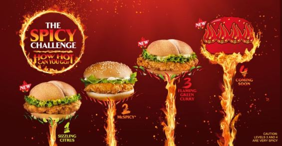 McDonald Spicy Burger