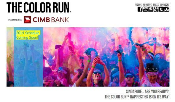 ColorRun2014 Singapore