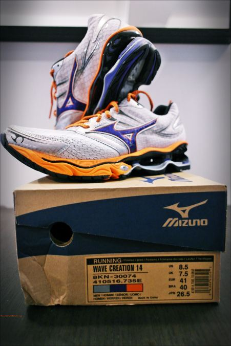 Unboxing Mizuno Wave 14